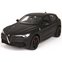 ALFA ROMEO Stelvio, matt black (limited 28)
