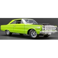 PLYMOUTH GTX Hemi, 1967, lime l.green (limited 750)