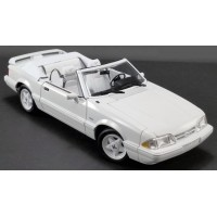 FORD Mustang LX Convertible, 1993, vibrant white/white interior