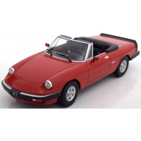 ALFA ROMEO Duetto Spider 3 Serie 2, 1986, red (limited 1500)