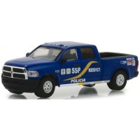 2017 Ram 2500 Mexico City Mexico Policia, *Hot Pursuit Series 30*, blue