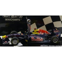 RED BULL Renault RB7 GP Spain'11, winner S.Vettel (with figurine) (limited 1000)