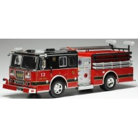 SEAGRAVE Firetruck, red/black