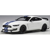 FORD SHELBY GT-350R, oxford white/blue stripes