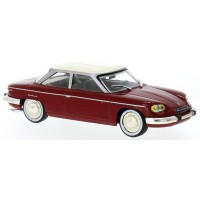 PANHARD 24 BT, 1964, d.red/white roof