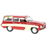 WARTBURG 312 Camping, 1960, red/white