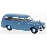 SKODA 1201 Break, 1954, blue