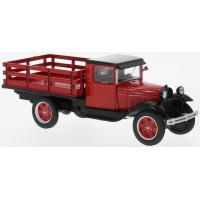 FORD AA Platform Truck, 1928, red