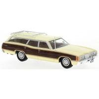 FORD LTD Country Squire, 1972, yellow/wood