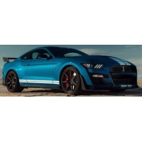 FORD Shelby GT500, velocity blue