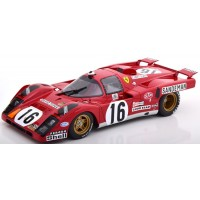 FERRARI 512M 24h LeMans'71 #16, 4th C.Craft / D.Weir