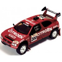 CITROËN ZX ParisDakar95 #200, winner P.Lartigue / M.Perrin