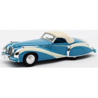 TALBOT-LAGO T26 Grand Sport Cabriolet Saoutchik closed, 1948, blue