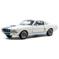 FORD Mustang Shelby GT500, 1967, white/blue stripes
