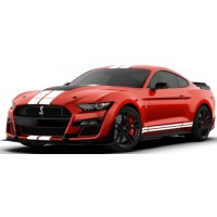 FORD Shelby GT500, 2020, race red