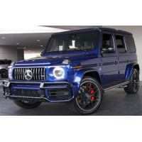 MERCEDES-AMG G63, 2020, canvasite blue