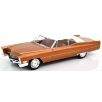 CADILLAC DeVille Softtop, 1967, met.goldbrown (limited 500)