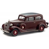 CHEVROLET 2-door Sedan, 1934, regent maroon