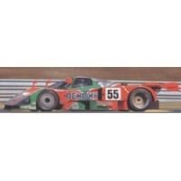 MAZDA 787B LeMans'91 #55, winner