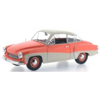 WARTBURG 311 Coupé, 1958, orange/cream