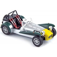 CATERHAM Super Seven, 1983, green/yellow/aluminium