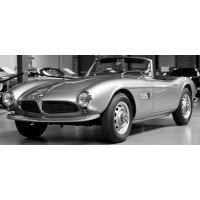 BMW 507 Roadster Softtop, red