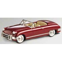 MUNTZ Jet top down, 1952, met.maroon