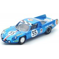ALPINE A210 LeMans'68 #55, 14th JC.Andruet / JP.Nicolas