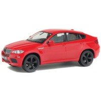 BMW X6M, 2007, red