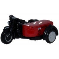 BSA Motorcycle and Sidecar