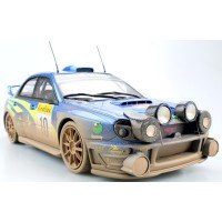 SUBARU Impreza Rally MonteCarlo'01 #10, winner Mäkinen / Lindström, finish line (night version) (limited 50)