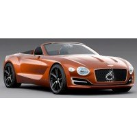 BENTLEY EXP 12 Speed 6e, orange flame