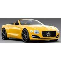 BENTLEY EXP 12 Speed 6e, monaco yellow