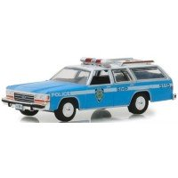 1988 Ford LTD Crown Victoria Wagon New York City Police Dept NYPD, *Hot Pursuit Series 30*, blue/white