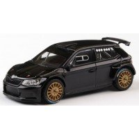 SKODA Fabia R5 Rally Spec, 2015, black