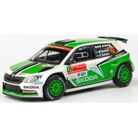 SKODA Fabia R5 Rally Potugal'15 #43, P.Tidemand / E.Axelsson