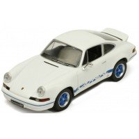 PORSCHE 911 Carrera RS 2.7, 1973, white/blue