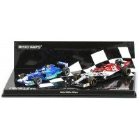 SET Kimi Raikkönen containing:SAUBER Petronas C20, 2001; ALFA ROMEO C38, 2019 (limited 220)